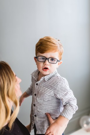 Currently with glasses (25 months old)